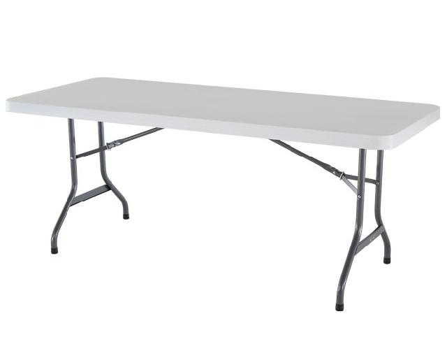 Where to find TABLE,8 X30  WHITE in St. Louis