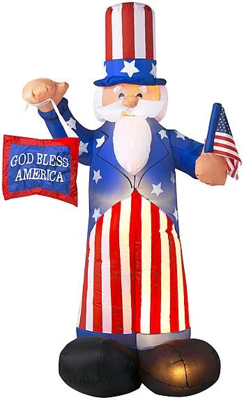 Where to find INFLATABLE,UNCLE SAM in St. Louis