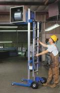 Where to rent 12  GENIE MATERIAL LIFT 350LB MAX. in St. Louis MO