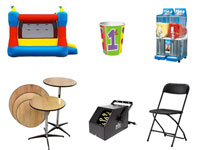 Equipment rentals st louis mo party rental st louis for A m salon equipment st louis mo